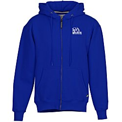 View a larger, more detailed picture of the Cotton Rich Zip Front Hoodie - Screen