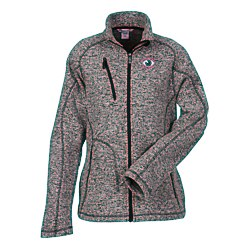 View a larger, more detailed picture of the Peak Sweater Fleece Jacket - Ladies