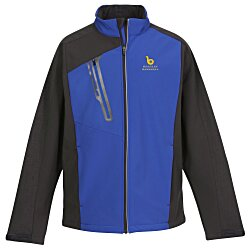 View a larger, more detailed picture of the Terrain Color Block Soft Shell - Men s