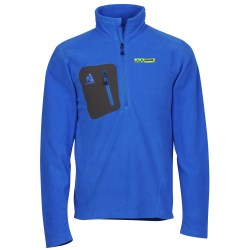 View a larger, more detailed picture of the Eddie Bauer Microfleece 1 4 Zip Pullover - Men s