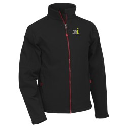View a larger, more detailed picture of the Escalate Soft Shell Jacket - Men s