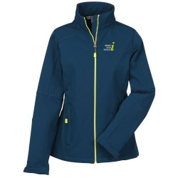 View a larger, more detailed picture of the Escalate Soft Shell Jacket - Ladies