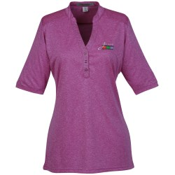 View a larger, more detailed picture of the Cross Dye Performance Henley - Ladies