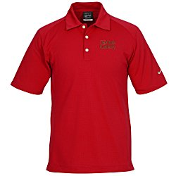 View a larger, more detailed picture of the Nike Performance Mini Texture Polo - Men s