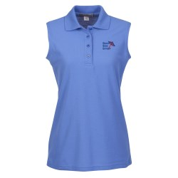 View a larger, more detailed picture of the Silk Touch Sleeveless Shirt - Ladies
