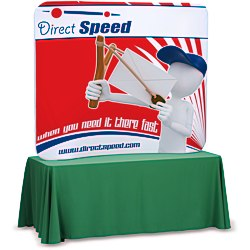 View a larger, more detailed picture of the Tension Fabric Tabletop Display - 5 - Replacement Graphic