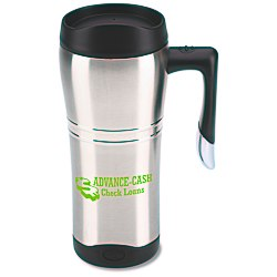 View a larger, more detailed picture of the Cutter & Buck Travel Mug - 16 oz