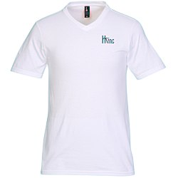 View a larger, more detailed picture of the District Concert V-Neck Tee - Men s - White - Screen