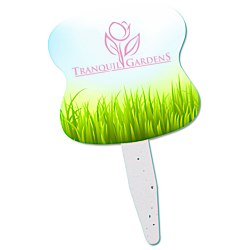 View a larger, more detailed picture of the Grow Stick Mini Hand Fan - Hourglass