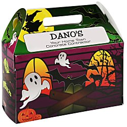 View a larger, more detailed picture of the House Shape Box - Halloween