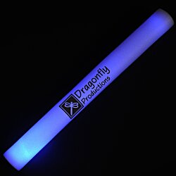 View a larger, more detailed picture of the Light Up Foam Cheer Stick - Multicolor