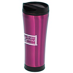 View a larger, more detailed picture of the Cara Travel Tumbler - 18 oz - 24 hr