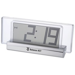 View a larger, more detailed picture of the Sereno Digital Desk Clock - Closeout