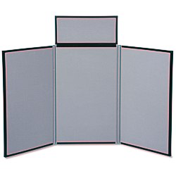 View a larger, more detailed picture of the Fold N Go Tabletop Display - 4 - Blank - 24 hr