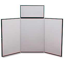 View a larger, more detailed picture of the Fold N Go Tabletop Display - 6 Blank - 24 hr
