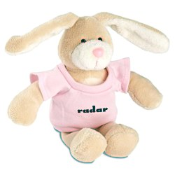 View a larger, more detailed picture of the Mascot Beanie Animal - Bunny - 24 hr