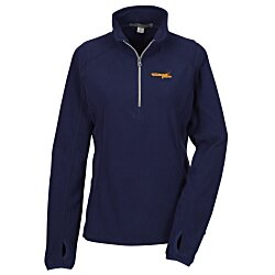 View a larger, more detailed picture of the Microfleece 1 2-Zip Pullover - Ladies