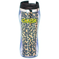 View a larger, more detailed picture of the Hollywood Travel Tumbler - Leopard - 14 oz