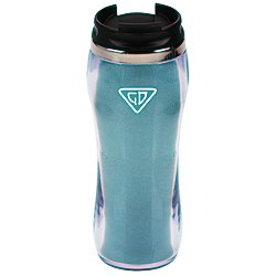 View a larger, more detailed picture of the Glitter Travel Tumbler - 14 oz