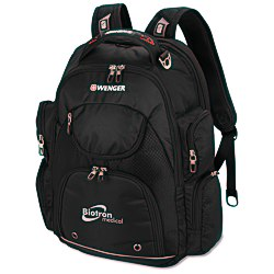 View a larger, more detailed picture of the Wenger Scan Smart Tech Laptop Backpack