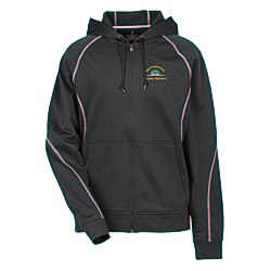 View a larger, more detailed picture of the Tonle Full Zip Performance Hoodie - Men s
