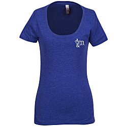 View a larger, more detailed picture of the Next Level Tri-Blend Scoop Tee - Ladies - Colors