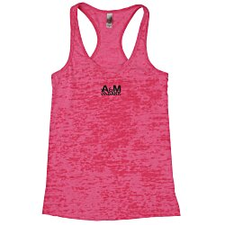 View a larger, more detailed picture of the Next Level Burnout Racerback Tank - Ladies