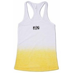 View a larger, more detailed picture of the Next Level Ombre Burnout Razor Tank - Ladies