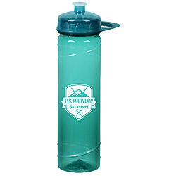 View a larger, more detailed picture of the PolySure Cyclone Sport Bottle with Handle - 24 oz - Translucent