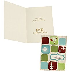 View a larger, more detailed picture of the Joy & Peace Greeting Card