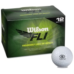 View a larger, more detailed picture of the Wilson F L I Golf Ball - Closeout