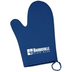 View a larger, more detailed picture of the Neoprene Oven Mitt - Closeout