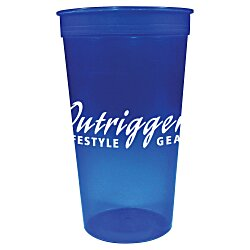View a larger, more detailed picture of the Stadium Cup - 32 oz - Jewel