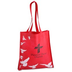 View a larger, more detailed picture of the Spiritual Tote - Doves - Closeout