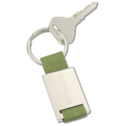 View a larger, more detailed picture of the Colorplay Nylon Key Ring - Closeout