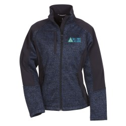 View a larger, more detailed picture of the Kitulo Sweater Hybrid Soft Shell Jacket - Ladies