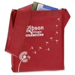 View a larger, more detailed picture of the Breezy Dandelion Tote - Closeout