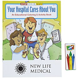 View a larger, more detailed picture of the Fun Pack - Your Hospital Cares About You