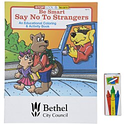 View a larger, more detailed picture of the Fun Pack - Be Smart Say No To Strangers
