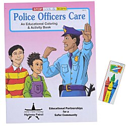 View a larger, more detailed picture of the Fun Pack - Police Officers Care
