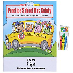 View a larger, more detailed picture of the Fun Pack - Practice School Bus Safety