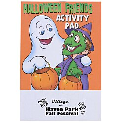 View a larger, more detailed picture of the Activity Pad - Halloween Friends