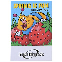View a larger, more detailed picture of the Activity Pad - Spring Is Fun
