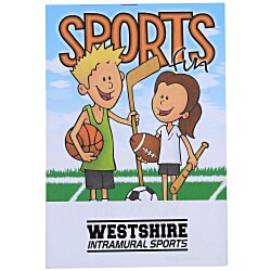 View a larger, more detailed picture of the Activity Pad - Sports Fun