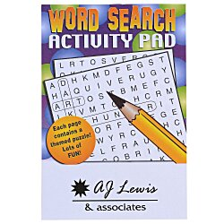 View a larger, more detailed picture of the Activity Pad - Word Search