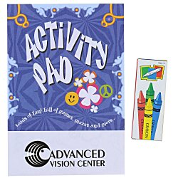 View a larger, more detailed picture of the Activity Pad Fun Pack