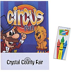 View a larger, more detailed picture of the Activity Pad Fun Pack - Circus Fun