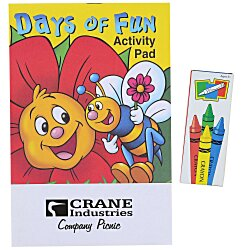 View a larger, more detailed picture of the Activity Pad Fun Pack - Days of Fun