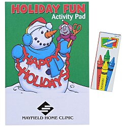 View a larger, more detailed picture of the Activity Pad Fun Pack - Holiday Fun