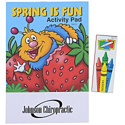 View a larger, more detailed picture of the Activity Pad Fun Pack - Spring Is Fun